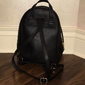 Aldo Bags - Black Leather Backpack